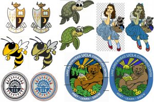 How To Create Patches Using the Embroidering Machine